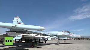 syria sukhoi su 35s jet joins russian air fleet at hmeymim