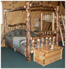 rustic aspen log beds rustics u0026 log furniture