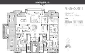 brickell on the river floor plans photo tour of penthouse 1 at palazzo del sol last remaining penthouse