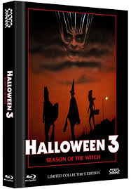 halloween 3 uncut dvd blu ray cd mediabook limited collector u0027s