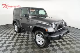 charcoal grey jeep rubicon kernersville chrysler dodge jeep ram vehicles for sale in