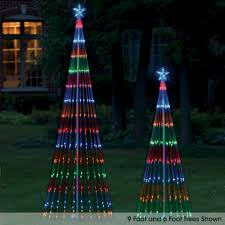 the led light show tree 12 u0027 hammacher schlemmer christmas