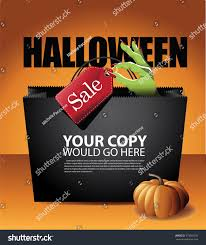 free halloween vector background halloween sale shopping bag background eps stock vector 319068185