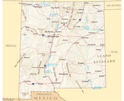 Map Of Arizona Cities by Maps Of New Mexico State Collection Of Detailed Maps Of New