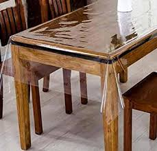Online Shopping For Dining Table Cover Buy Yellow Weavestm Pvc Transparent Clear Dining Table Cover