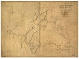 Virginia State Map A Large Detailed Map Of Virgi by Virginia 1772 Ballendine Old State Map Reprint Old Maps