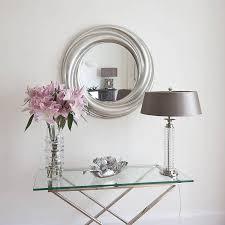 deco shabby chic decoration inspiring silver art deco shabby chic wall mirror