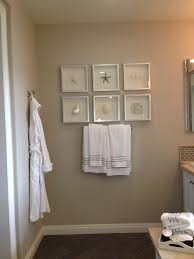 Bathroom Wall Decorating Ideas Small Bathrooms by Bathroom Beach Decor Framing Ideas Model Home Inspirations
