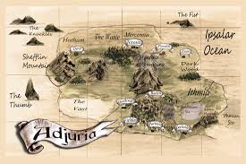 Fantasy Maps Writing Articles