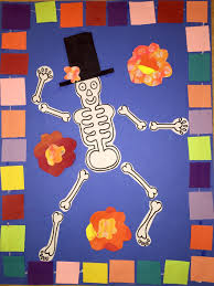 3rd grade halloween craft ideas fall halloween and el dia de los muertos tinyartroom