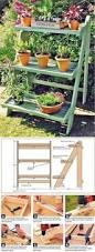 Outdoor Woodworking Projects Plans Tips Techniques by Garden Plant Stand Woodworking Plan Outdoor Patio Furniture