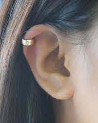 cuff earings gold cuff earring by olive yew lightweight and comfortable