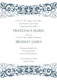 Marriage Invitation Card Sample Best Free Invitation Card Templates For Word 92 With Additional