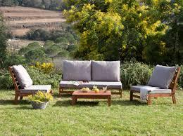 canap teck jardin salon jardin teck beau awesome salon de jardin bois canape amazing