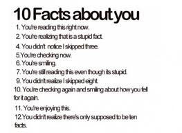 i these facts makes you think random facts