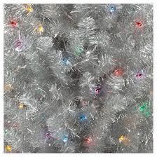 6ft prelit artificial tree silver slim alberta