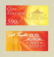 hotel gift card gift certificate voucher coupon card hotel restaurant thai royalty