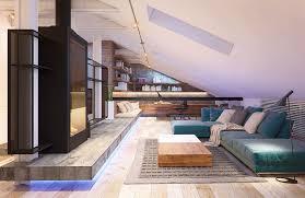 Floor Plan Of 2 Bedroom Flat A 2 Bedroom Flat In Kiev With Sleek Contemporary Features
