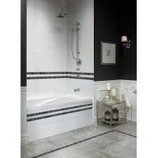bathtubs terrific three wall alcove soaking tub 16 bathroom