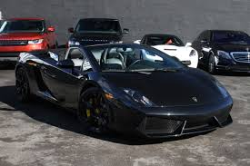 black on black lamborghini gallardo lamborghini gallardo black miami car rental luxury cars