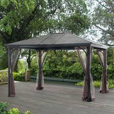 Outdoor Patio Grill Gazebo by Hard Roof Gazebo Uk Grill Kits 6731 Interior Decor