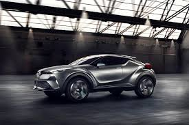 nissan juke vs toyota chr toyota c hr concept loses very little pizzaz so far on its way
