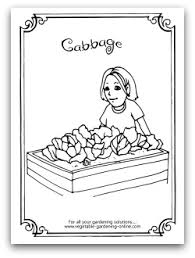 free vegetable garden coloring books printable activity pages