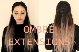 ombre extensions grey ombre hair w vpfashion extensions paolakassa