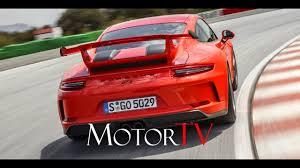 new 2018 porsche 911 gt3 l on track l driving scenes youtube