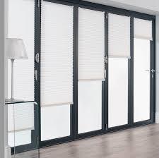 Folding Patio Doors Prices by Bifolding Door Blinds U0026 Black Bifold Door With Integral Blinds