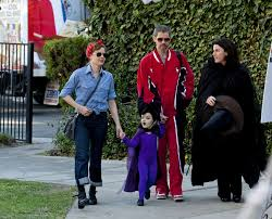 Great Family Halloween Costumes Amy Adams And Family The Best Celebrity Halloween Costumes Zimbio