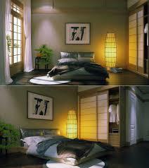 zen inspired interior design meditation room closet excellent