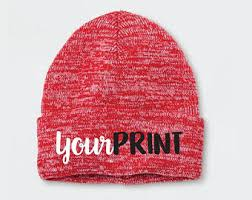 custom knit hat etsy