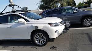 lexus luxury car apple u0027s self driving lexus gets caught on camera cult of mac