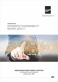 sustainability report we are kbl kirloskar brothers limited