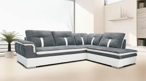 canap convertible blanc et gris canapé gris convertible nouveau canape d angle ã droite convertible