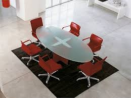 Frosted Glass Conference Table Valeo Glass Meeting Table By Epcr