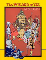wizard oz coloring book