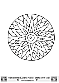 mandala coloring pages for kids to download and print for free