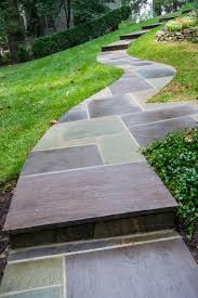 Pictures Of Stone Walkways by Stone Walkway Step Design Construction Oakton Va