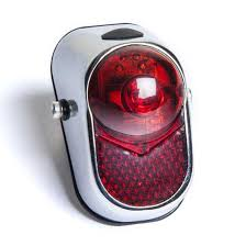 bicycle rear fender light bicycle rearlight kiley lm 002 red led metal cover mounted on