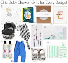 baby shower ideas on a budget 12 chic baby shower gifts ideas for every budget owlet