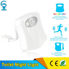 can you put a motion sensor on any light 8 colours led motion activated toilet bowl night light sensor body