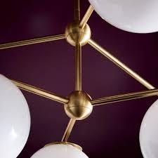 Sphere Ceiling Light by Sphere Stem Chandelier West Elm Uk