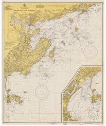 Salem Massachusetts Map by Old Nautical Charts Of Salem U0026 Lynn Harbors