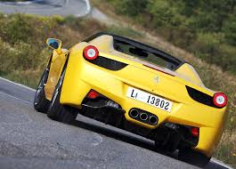 ferrari yellow car ferrari 458 spider yellow car pictures images u2013 gaddidekho com