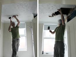 Bathroom Ceilings Operation Bathroom Remodel Ripping Down The False Ceiling Swoon