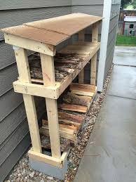 Easy Woodworking Projects Pinterest by Best 25 Firewood Rack Plans Ideas On Pinterest Wood Rack