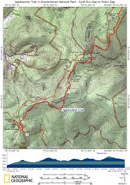 National Geographic Topo Maps At In Snp Swift Run Gap To Milam Gap