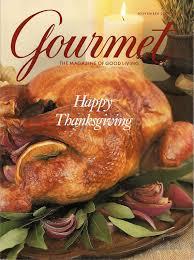 a gourmet magazine thanksgiving bellyglad